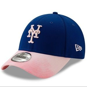 NEW- NY Mets New Era Mother's Day Hat -Royal/Pink